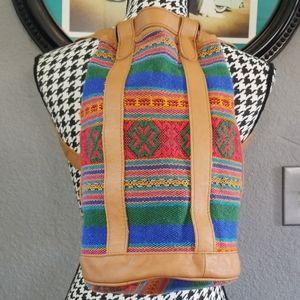 VTG Serape Bucket Bag
